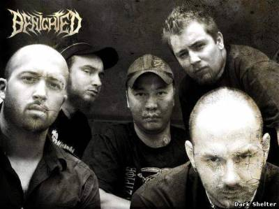 "Benighted ""Let The Blood Spill Between My Broken Teeth"""
